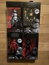Star Wars Black Series CAPT PHASMA~COMMANDER PYRE-CAPT CARDINAL-DEATH TROOPER