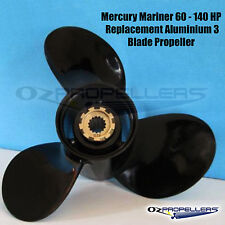 13 x 19 Mercury Mariner Propeller 60-70-75-90-100-115-140hp 3 Blade Prop Alloy
