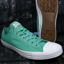 Converse CTAS SHIELD CANVAS OX AEGEAN AQUA MEN'S SKATE SHOES SIZE 12 A89204.128
