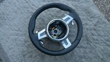 PORSCHE 991 & 981 OEM, FACTORY GENUINE PDK F1 BLACK LEATHER STEERING WHEEL