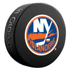 New York Islanders Nhl Team Logo Basic Souvenir Hockey Puck