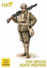 Hat industries 1/72 WWI British Heavy Weapons Soldiers (32 w/4 Guns) HAT8177
