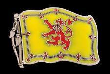 Scotland Royal Flag Lion Rampant Banner King Scots Belt Buckle Buckles