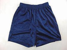 Vintage 90 VIRMA Pantaloncini M L Blu Calcio Shorts Soccer Glanz Shiny
