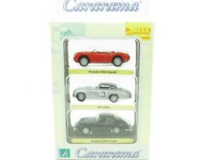 Cararama Hongwell 3 Car Set Porsche Mercedes Benz 1 72 Scale Boxed