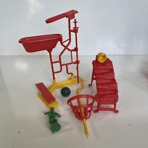 Vintage Ideal 1975 Mouse Trap Game Parts