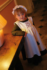 Kids Ursula Urchin Girl Victorian Fancy Dress Party Costume 9-11 Years Uug9