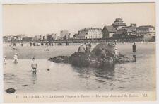 France postcard - Saint Malo - La Grande Plage et le Casino - LL No. 17 (A186)