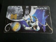 TELECARTE 50 FRANCE CONQUETE SPATIALE, USAGEE, PHONE CARD