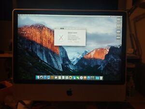 """Apple iMac 24"""" Desktop - (Early, 2008)"""