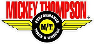 2-PACK MICKEY THOMPSON  RAT ROD HOT ROD STICKER  RAT FINK VINTAGE RACING TIRES