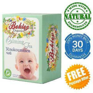 Calming Tea for babies Herbs Natural Colic Ease Better Sleep Stomach Kid