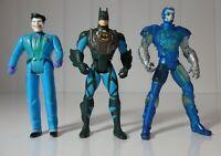 Kenner DC Comics Batman, Joker & Mr Freeze Bulk Lot 1995 & 1996