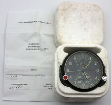 "Soviet AirForce Cockpit Clock ACS-1 ""B"" / AChS-1 ""B"" for Su/MiG, NOS, in BOX!"