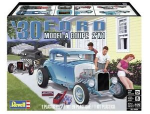 Revell 4464 1:25 scale 1930 Ford Model A Coupe 2'N'1 Kit