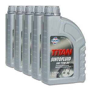 Fuchs Titan Sintofluid SAE 75W-80 Olio per Ingranaggi Cambio Manuale, Api