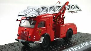 DL18 Renault Galion T2 Fire Engine Truck 1960 Year 1/72 Scale Diecast Model