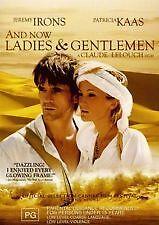 AND NOW LADIES & GENTLEMEN - BRAND NEW & SEALED REGION 4 DVD (JEREMY IRONS)
