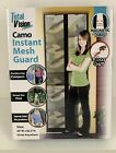 Total Vision Instant Mesh Guard 40 X 82.5 Inches, Camouflage Style New In Box