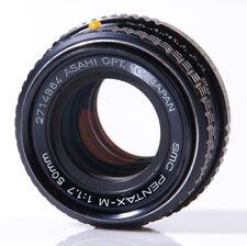 OBJECTIF PENTAX K : SMC PENTAX-M 1,7/50mm PENTAX K