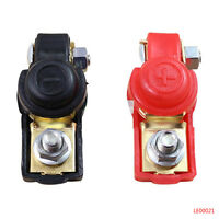 12V Adjustable Auto Car Battery Starter Terminal Clamp Clips Connector Cap