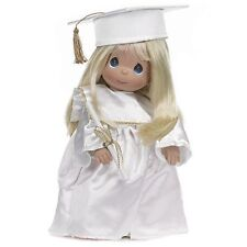 "Precious Moments 12"" Doll Graduation Straight Hair Blonde Gift Box NEW"