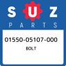 01550-05107-000 Suzuki Bolt 0155005107000, New Genuine OEM Part