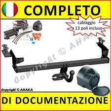 Gancio di traino fisso Fiat Punto II (188) 1999-2007 + fisso centralina 13-poli