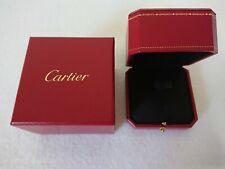 CARTIER GENUINE JEWELRY PRESENTATION Ring BOX Black inside 1651120062