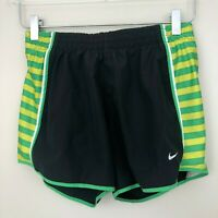 Nike DRI-FIT Womens Athletic Running Shorts Size XS Striped Lined