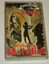 Cassette Audio : Rhapsody VIENNA - Wiener Walzer - Voyages MONDIAL Travel 1985