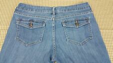 Ladies Old Navy Bell Bottom Jeans Sz 8 Free Shipping wj10