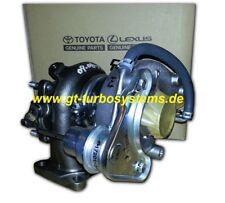 Turbolader Original Toyota 2.4TD 1720154090 für Land Cruiser / Hilux Pick-up Neu