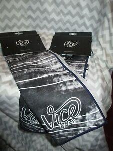 Vice Shine Golf Towel Navy 2020