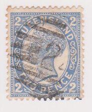 (POE-51) 1905 QLD 2d blue QVIC PO no.241 N.N.S