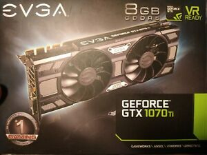 EVGA NVIDIA GeForce GTX 1070ti Gaming 8GB GDDR5 Graphics Card