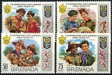 Grenada 1971 SG#440-3 World Scout Jamboree MH Set #D87742