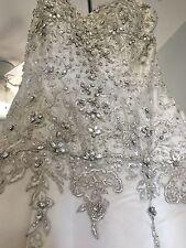 STEPHEN YEARICK 13936ix Sample Wedding Dress - Size 10