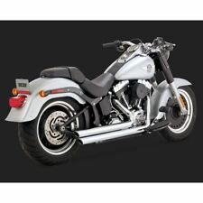 Vance & Hines Chrome Big Shots Staggered 2-into-2 Exhaust System - 17939
