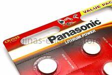 6 PANASONIC CR2025 qualitäts Markenbatterie CR 2025 NEU