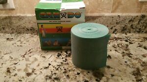 GREEN Cando Band Latex Free - by Foot  Therapy Theraband Resistive Exercise non