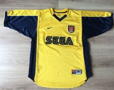 Arsenal Football Shirt Henry Original Nike Away Kit 1999-2000. Sega. Medium Men