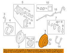 SUBARU OEM 08-14 Tribeca Rear Brake-Rotor 26700XA00A