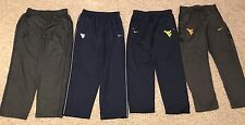 Lot Of 4 Nike WVU West Virginia Mountaineers Team Issue Sweatpants Size XL EUC