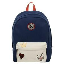 b576a575a00 Bioworld Kingdom Hearts Patches Backpack Navy Blue   White Book Bag