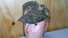 CAPS - GERMAN FLECTARN CAMO FIELD CAP VERY GOOD CONDITION 1990's
