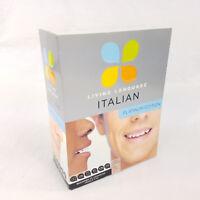 Living Language Italian, Platinum Edition - Course Books, Audio CDs, Apps
