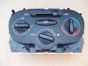 PEUGEOT 206 BEHR HEATING VENTILATION CONTROL PANEL OFF 2004 REG 3 DOOR 99210