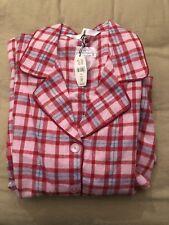 Victoria's Secret Flannel PJs Pajama Set NWT Size Xs