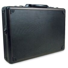 "RoadPro 17.5"" Aluminum Briefcase Attache Combo Locks Laptop Pockets BestDealer"
